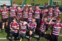 Creggs Under-11's played in the Neville Furlong Garryowen Rugby Festival last Saturday,