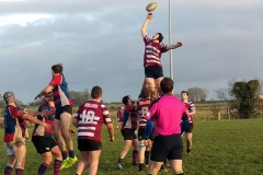 Cregg's go high v Tuam RFC - Nov. 2015