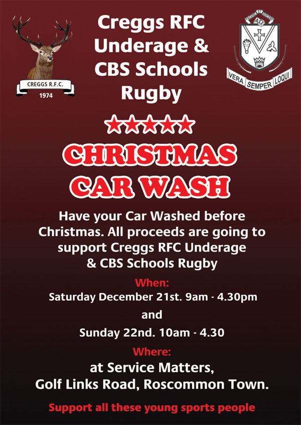 Creggs-RFC-&-CBS-Christmas-Car-Wash