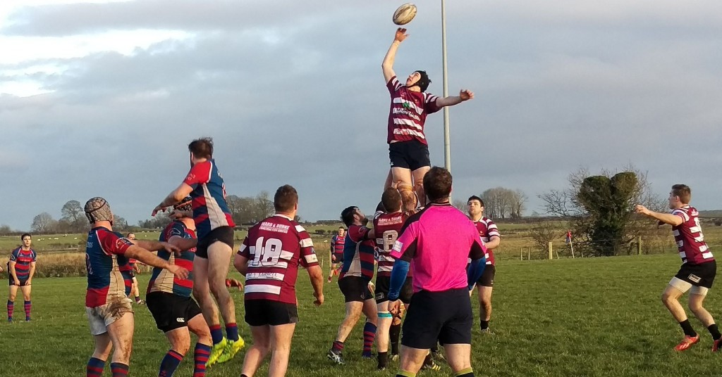 Cregg's Tom Oates soars high v Tuam RFC