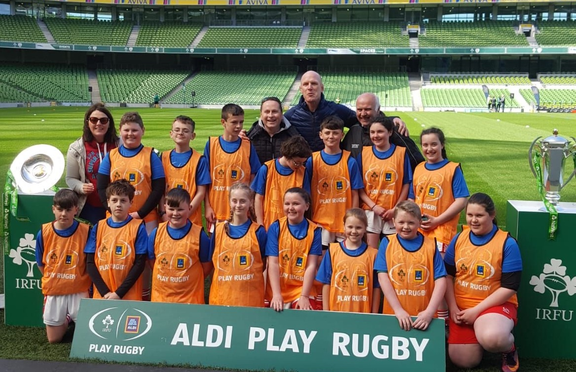 Cloontuskert NS (Tag Rugby) in the Aviva